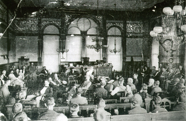 U.S. Courtroom at Fort Smith