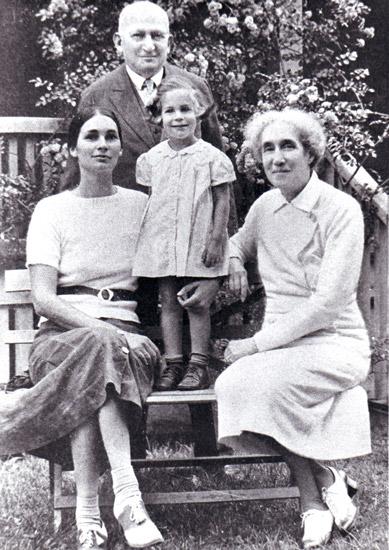 Cyrus Adler Family