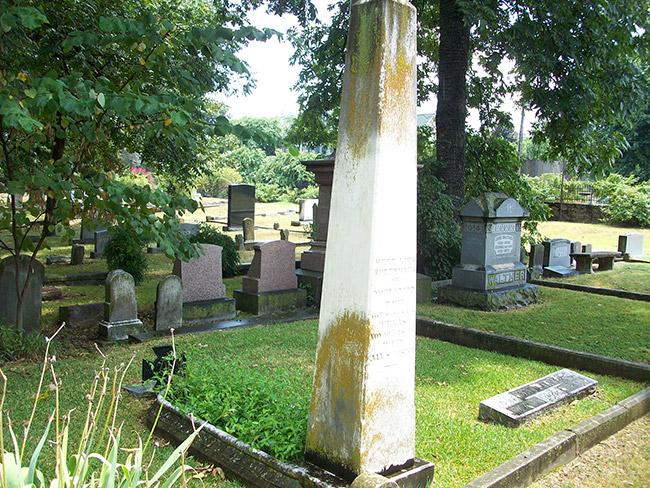 David O. Dodd Gravesite