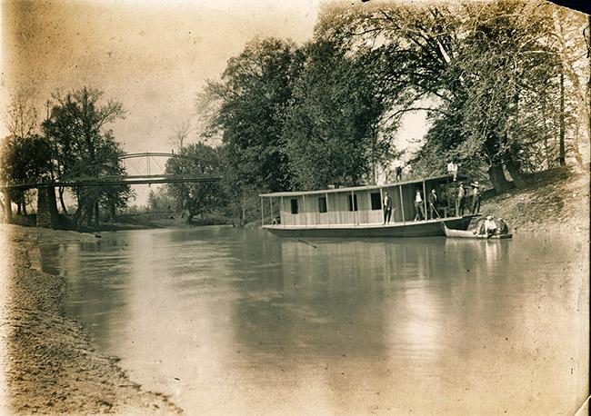 Petit Jean River at Danville