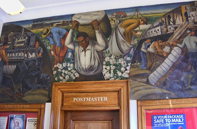 Dardanelle Post Office Art