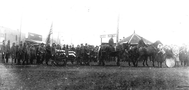 Herman Davis Funeral