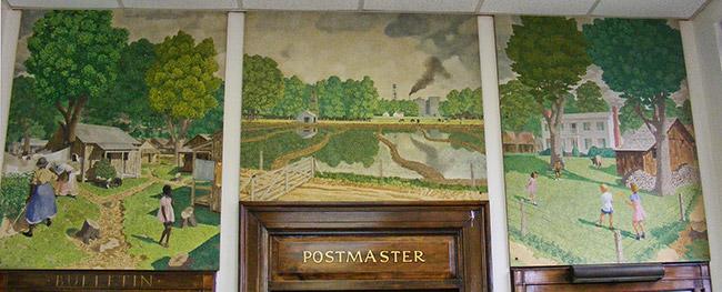 DeWitt Post Office Art