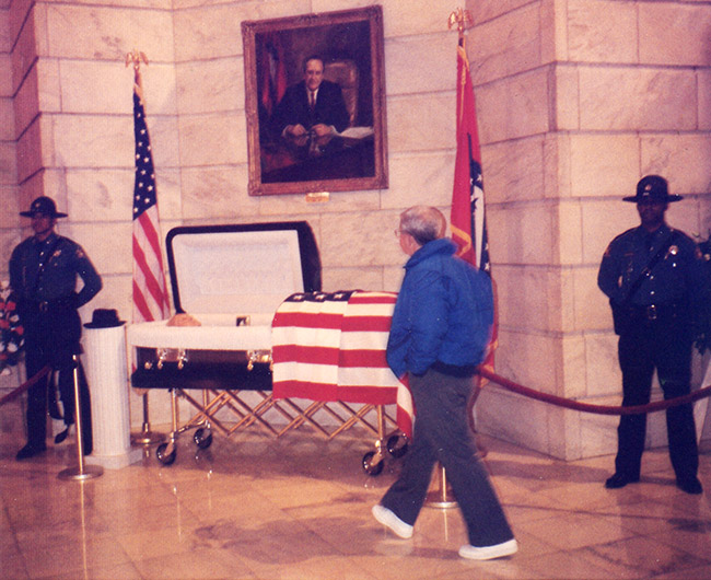 Faubus Lying in State
