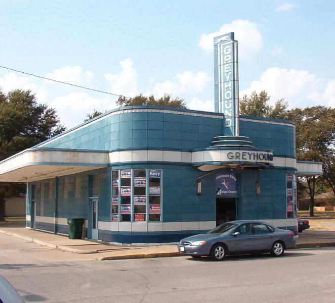 Art Deco Bus Station