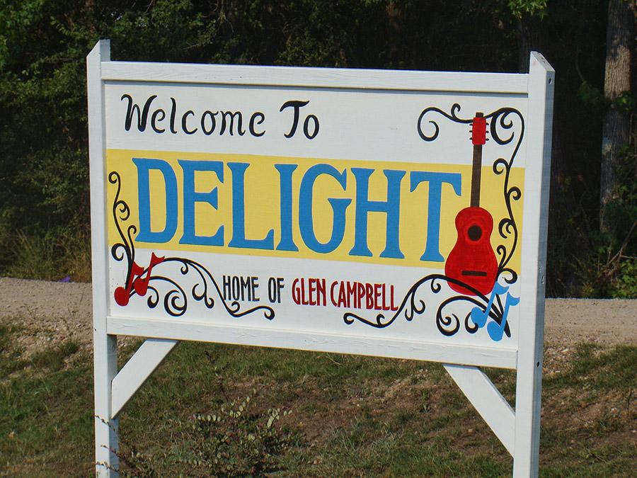 Glen Campbell Sign