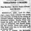 Amos Neely Lynching Article