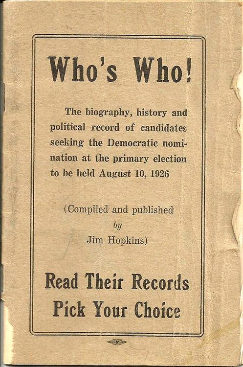 Democratic Party Booklet