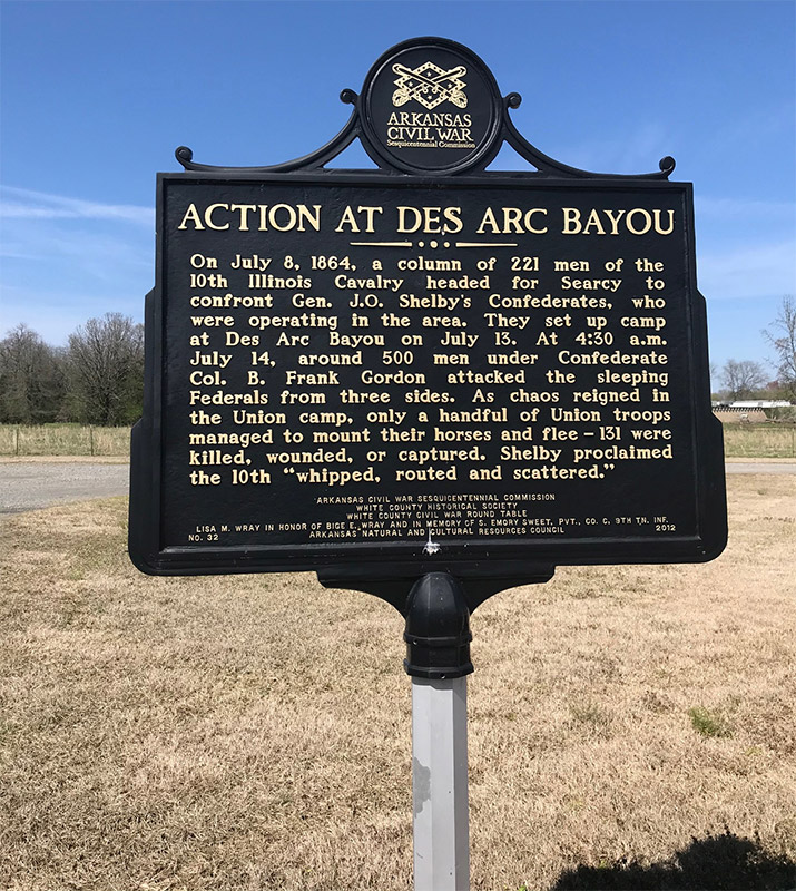 Action at Des Arc Bayou Memorial