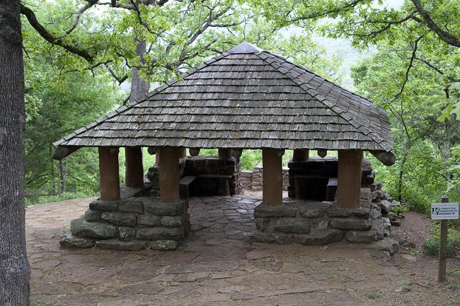 Devil's Den Shelter