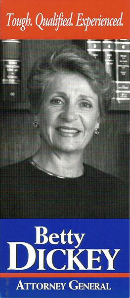 Betty Dickey Campaign