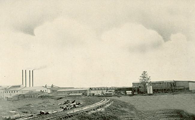 Dierks Lumber Mill