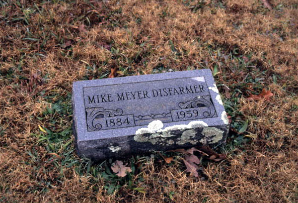 Mike Meyer Disfarmer Gravesite