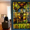 David O. Dodd Stained-Glass Window