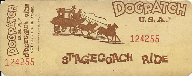 Dogpatch Ticket