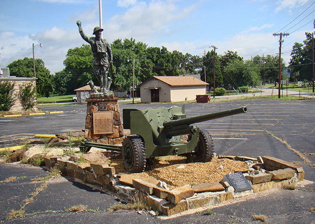 Doughboy Monument: Fort Smith