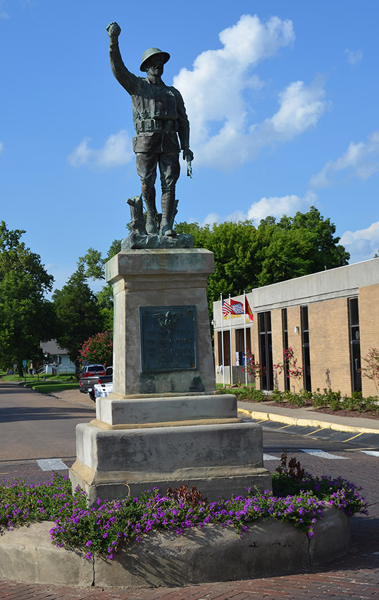 Doughboy Monument: Helena-West Helena