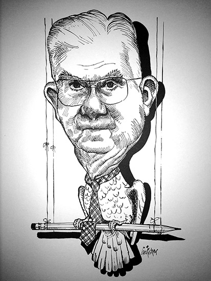 Douthit Caricature