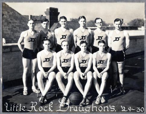 Draughon Basketball Team