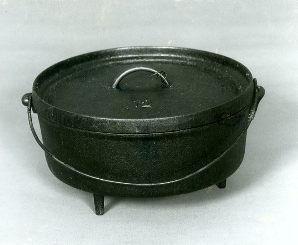 Dutch Oven, Official State Cooking Vessel