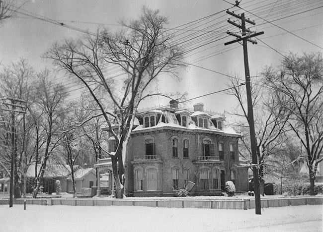 Elias Rector DuVal Home