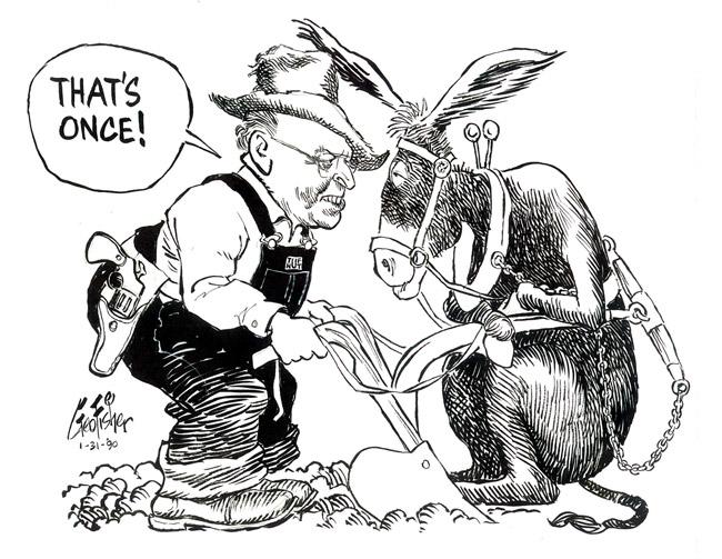 Leland Duvall Cartoon