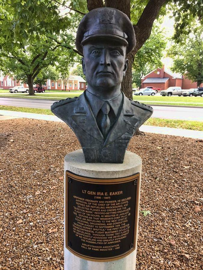 Ira E. Eaker Bust