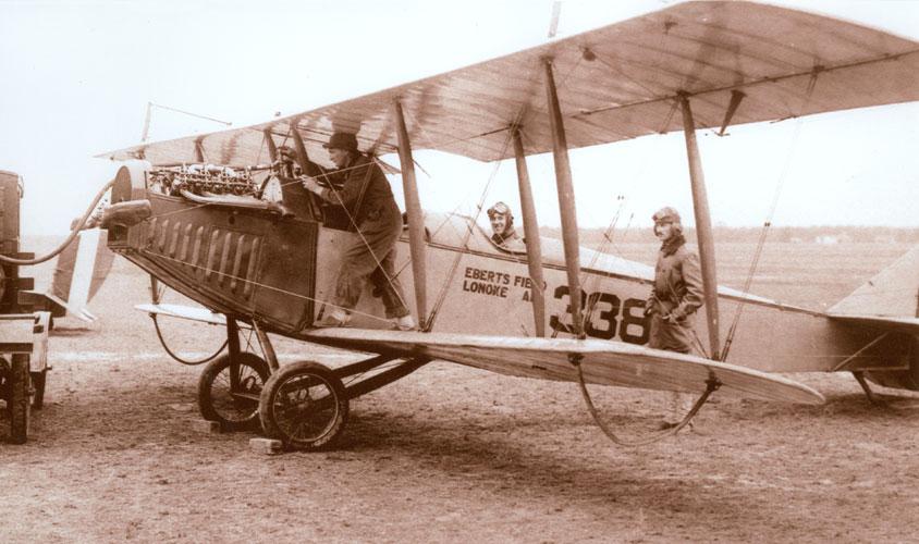 Eberts Field Airplane