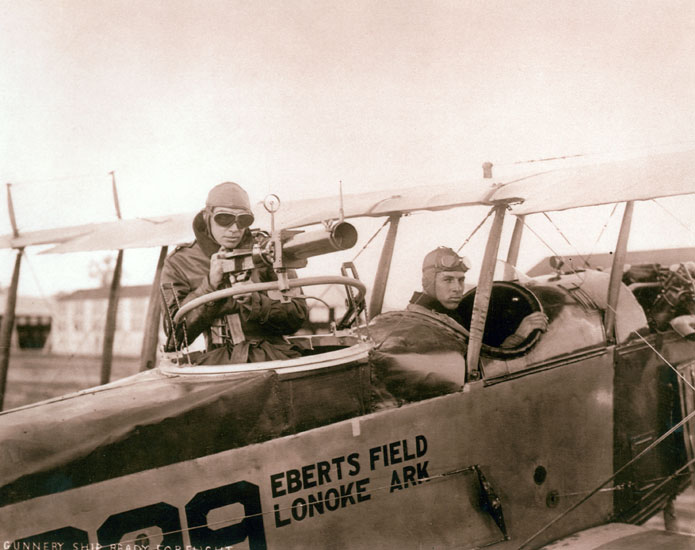 Eberts Training Field Gunnery Plane