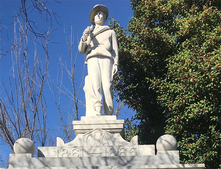 El Dorado Confederate Monument Detail