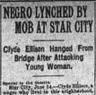 Ellison Lynching Article