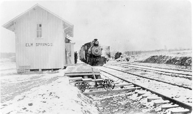 Elm Springs Depot