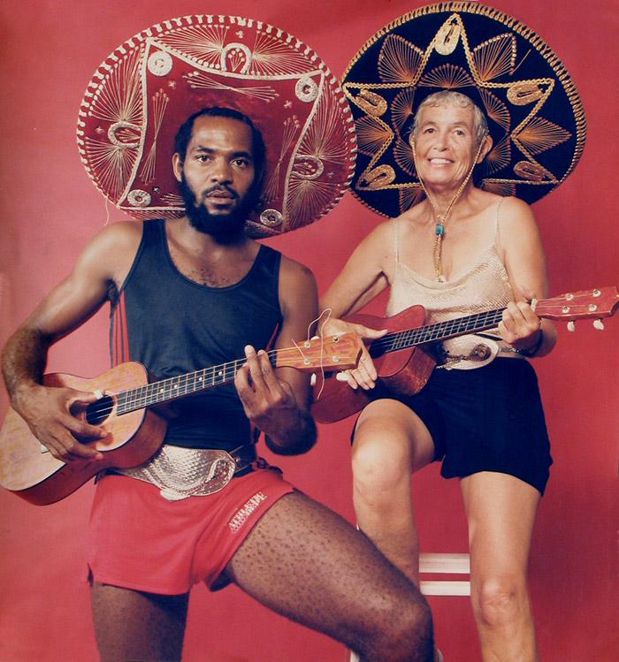Elton and Betty White