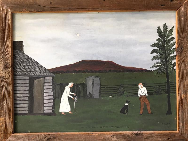 Essie Ward Painting
