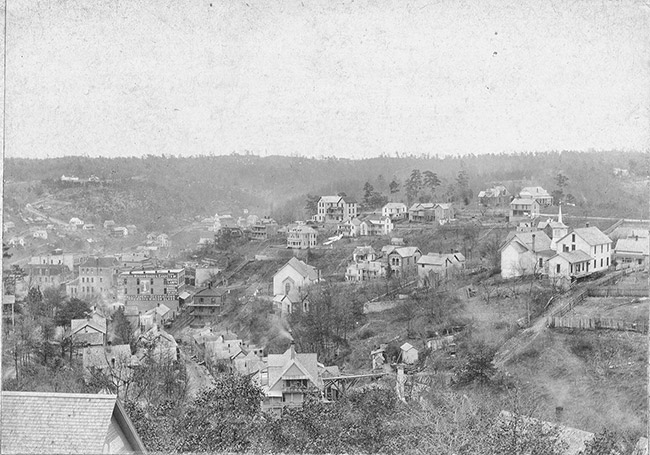 Eureka Springs; 1880s