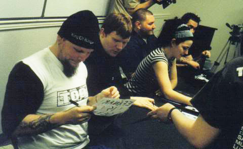 Evanescence Signing