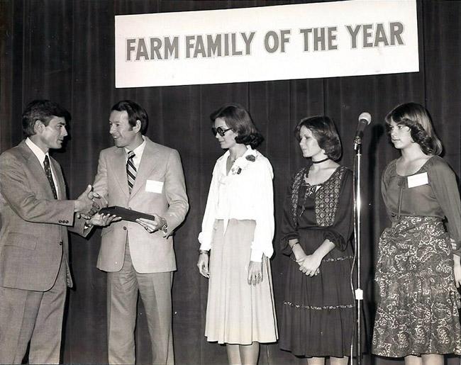 1977 Arkansas Farm Family of the Year