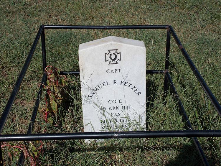 Samuel R. Fetzer Gravesite