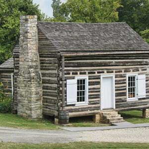 Ficklin-Imboden Log House