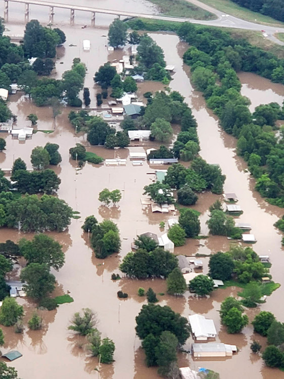 Desha County Flooding