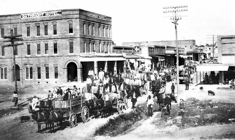 Foreman: Cotton Auction