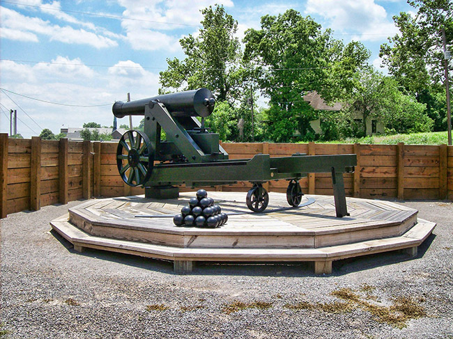 Fort Curtis Cannon