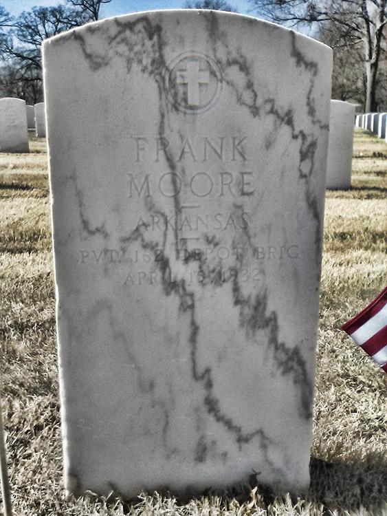 Frank Moore Tombstone