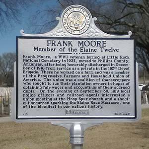 Frank Moore Memorial