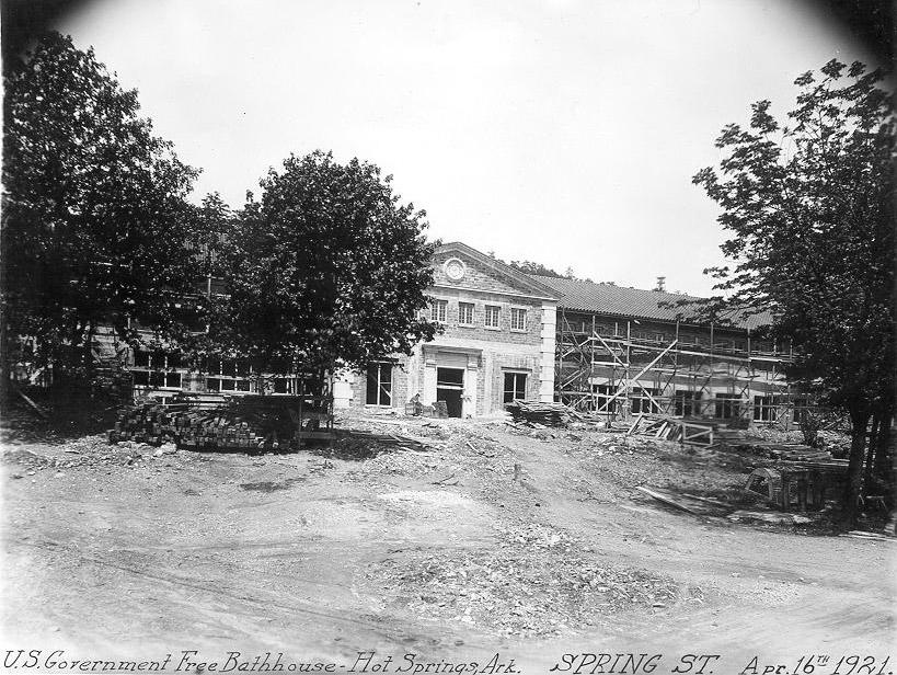 Bathhouse Construction