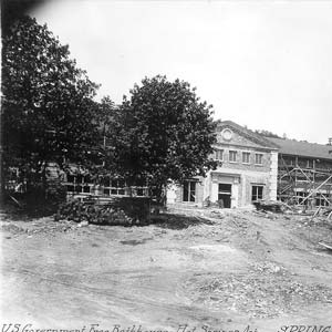 Bathhouse Construction