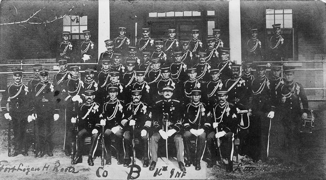 Company B, Sixteenth Infantry, Fort Logan H. Roots