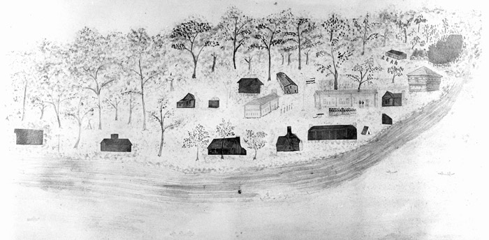 Fort Smith in 1836