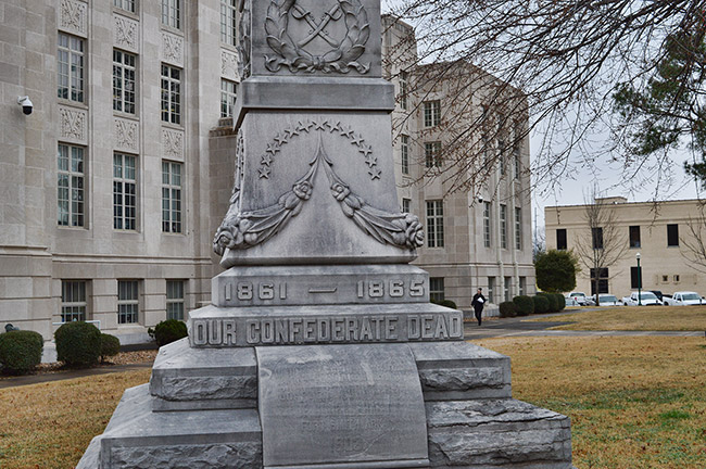 Fort Smith Confederate Monument Base