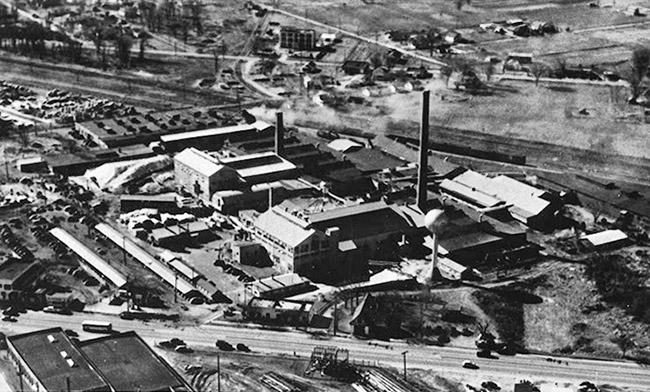 Harding Glass Plant